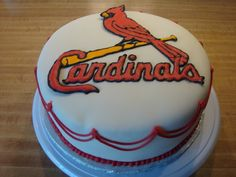 St. Louis Cardinals Groom's cake idea
