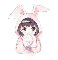 kawaii, cute, and anime image Manga Cute, Cute Anime Chibi, Anime Girl Cute, Kawaii Anime Girl, Cute Anime Pics, Anime Love, Gifs Kawaii, Art Kawaii, Loli Kawaii