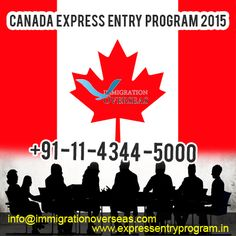 Get Canada Express Entry Program 2015 with quick consultation. Immigration Overseas is the best online portal for Visa Services. You can get PR Canada Visa by us.