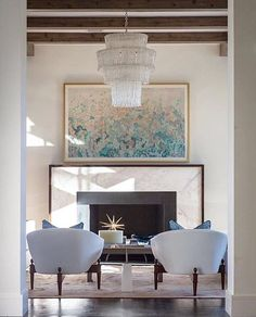 Beautiful symmetry in this gorgeous space designed by @jenkinsinteriors. What's your favorite detail here?
