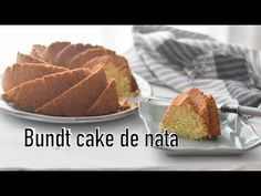 Bundt Cake  sencillo de nata Bundt Cakes, Muffin, Pastel, Sweets, Breakfast, Youtube, Food, Custard, Pound Cake