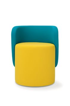 Upholstered fabric easy chair Boll Collection by Adrenalina | design Simone Micheli