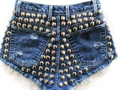 Runwaydreamz is the best fashion source for vintage, high waisted shorts and high waisted jeans. Shop the perfect denim jacket and denim skirt with us. Studded Shorts, Ripped Jean Shorts, Sequin Shorts, Denim Cutoffs, Vintage Shorts, Vintage Denim, High Waisted Shorts, High Waist Jeans, Diy Fashion