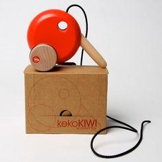 Keko Kiwi Wooden Toy
