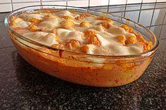 Gnocchi aus dem Ofen in Paprika - Tomaten - Sauce, ein tolles Rezept aus der Kategorie Gemüse. Bewertungen: 453. Durchschnitt: Ø 4,4.