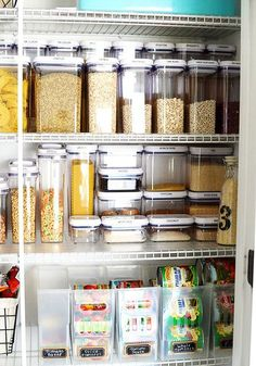 Pantry Organization: Tips For A Creating A Healthy Pantry . 20 Stylish Pantry Ideas Best Ways To Design A Kitchen Pantry. The Best Pantry Organizing Tips I Used To Organize My Own . Pantry Organisation, Kitchen Organization, Organization Hacks, Pantry Ideas, Organized Pantry, Food Pantry Organizing, Dresser Organization, Refrigerator Organization, Organizing Tips