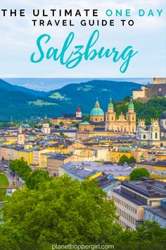 🏴 The Ultimate One Day Travel Guide to Salzburg 🏴 This blog gives you all the top itinerary on how to spend a day in Salzburg and still see all the major landmarks!! #salzburg #salzburgaustria #salzburgaustriathingstodoin #salzburgaustriaphotography #salzburgtravel #austria #travel #europetravel #planethoppergirl Mountain City, Salzburg Austria, Old Town Square, Austria Travel, Cool Countries, Best Cities, European Travel, Solo Travel, Day Trip