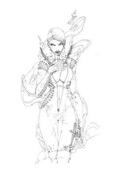 (Vampire Woman 1 cover by Brett Booth) Comic Art Comic Book Artists, Comic Books Art, Comic Art, Character Inspiration, Character Art, Character Design, Dc Comics Art, Comics Pdf, Brett Booth