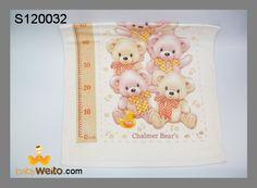 S120032  Handuk Baby Bear  Bahan halus dan lembut untuk kulit baby  Warna sesuai gambar  IDR 65*