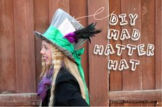 DIY Mad Hatter Hat and Costume October 1, 2015 By: MelaniecommentDIY Mad Hatter Hat and Costume