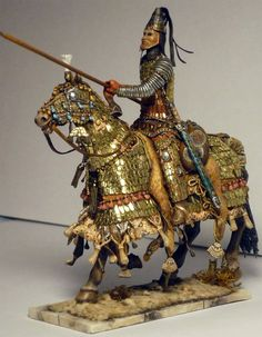 Arsacid Parthian Cataphract Sardar (General)