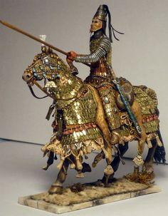 Arsacid Parthian Cataphract Sardar (General)