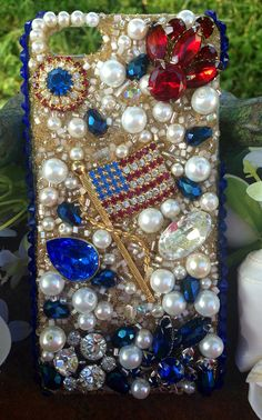 Vintage Americana iPhone 5/5S Case by Kianaskases on Etsy, $74.00