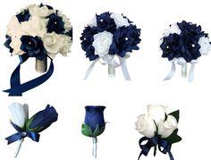 13pc set-Wedding package-navy blue white wedding theme