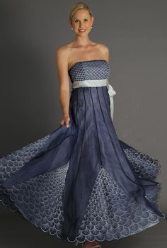 c08f6b5f1f Add a bolero or shawl to this classic Navy Blue and Silver pure silk
