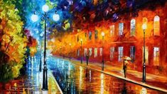 Cityscape-Painting-On-Canvas