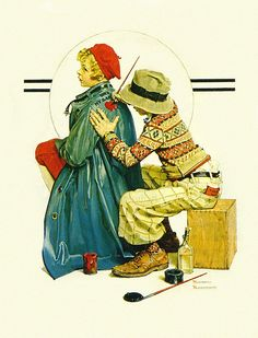 1927 - The Young Artist - by Norman Rockwell by x-ray delta one, via Flickr