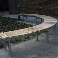 Image result for curved bench seats outdoor