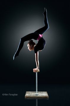 Balancing Canes (Baaska Enkhbaatar of Cirque du Soleil) by Allen Parseghian on 500px