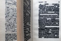 """A little over a year ago my husband and I were in downtown Charlotte having coffee with one of his old college buddies. At some point in the conversation, his friend pulled out a sheet of paper that looked like it had been torn out of an old book. """"Have you ever heard of blackout poetry?"""" he asked us as he showed us what was on the page. I had, but my husband had not. The basic concept is to take a page from a book or newspaper and create a poem by selecting certain words on that page and…"""