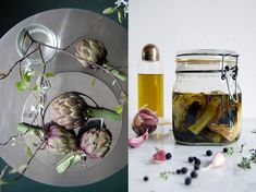 Preserved Artichoke Hearts with Spices and Thyme