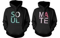Soulmate Matching Couple Hoodies (Set)