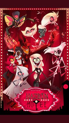 I'm so excited for the hazbin hotel!