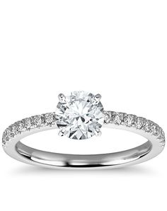 A little plain but love the band. and for 1/4ct. that diamond is blingy!