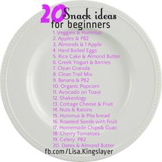 just starting out on the clean eating train? Need some ideas outside of Kale smoothies and cardboard?  Here ya go!
