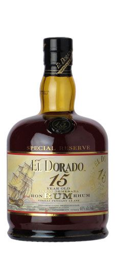 El Dorado 15 year old Demerara Guyana Rum