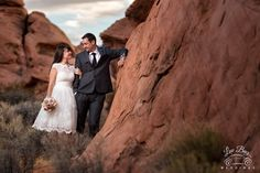 Beautiful setting for a wedding day at the Valley of Fire State Park! #ValleyofFireWedding  #vegaswedding