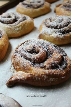 kakaós csiga (chocolate rolls) - Guest Post at Food Wanderings - Cake Duchess