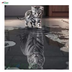 3d diy diamond embroidery painting animals of cat to tiger home decoration wall painting of diamond mosaic painting bb1859