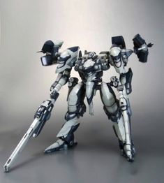 Kotobukiya - Armored Core figurine Fine Scale Model Kit 1/72 Interior Y01-Tel   With approximately 360 parts and 20 points of articulation, the Mecha stands about 16 cm tall. The polycapped joints allow for a wide variety of poses.  Paint is not required for this model, although you may choose to customize or detail the weapons as you see fit. All items include p...