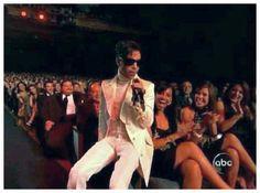 Prince at the Latin Alma awards.