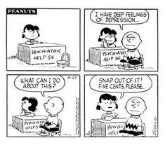 Lucy van Pelt and Charlie Brown. Charles M. Snoopy Love, Charlie Brown And Snoopy, Charles M. Schulz, Psychiatric Help, Psychiatric Nursing, Mental Health Humor, Peanuts Cartoon, Peanuts Gang, Peanuts Comics