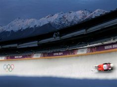 DAY 2:  Wolfgang Kindl of Austria makes a run during the Luge Men's Singles