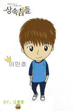 """Lee Min Ho Fan Art ♡ #Kdrama - """"HEIRS"""" / """"THE INHERITORS"""""""