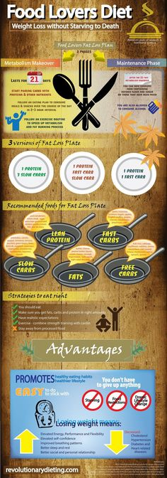 Food lovers fat loss system how to make a fat loss plate play 2 infographic weight loss for food lovers forumfinder Choice Image