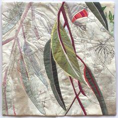 In My Portfolio: Eucalyptus Excerpt 4 | Ruth de Vos: Textile Art