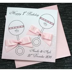 Luxurious Twins Birthday Card - Rattles  #Birthday #Luxury #Rattle #Twins #Baby #Handmade #Personalised #Swarovski Personalized Birthday Cards, Handmade Birthday Cards, Twin Birthday, Special Birthday, Luxury Birthday Cards, Baby Cards, Wedding Cards, Christmas Cards, Twins