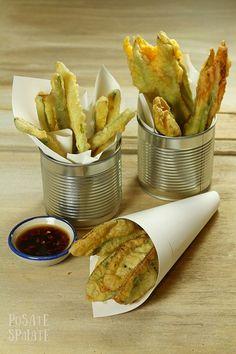 Salvia, zucchine e fiori fritti_Posate Spaiate