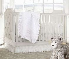 Create your dream nursery for your baby girl with Pottery Barn Kids' baby girl bedding. Shop baby girl crib bedding that will add style to your nursery. Nursery Crib, Nursery Bedding Sets, Crib Bedding, Girl Nursery, Nursery Ideas, Baby Girl Bassinet, Baby Girl Bedding, Girl Cribs, Baby Cribs
