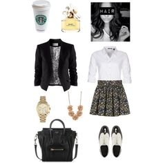 """Job Interveiw"" by justmegabby on Polyvore"