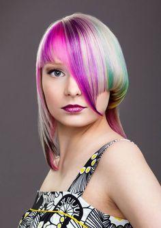 Hiukset: Sari, Meikki: Julia, Kuva Jarno Lindholm Hair Color, Sari, Beautiful, Fashion, Hair Style, Saree, Moda, Fashion Styles, Haircolor