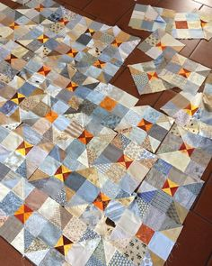 """76 Likes, 12 Comments - Maryline Collioud-Robert (@mary_and_patch) on Instagram: """"Beginning to work on the raffle quilt for our coming group exhibition ... . #patchwork #quilt…"""""""