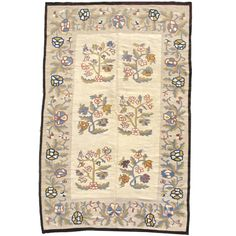 View this item and discover similar for sale at - With its field of alternating shrubs or trees in bloom, this Bessarabian Kilim has a design almost more reminiscent of textiles than rugs. Here the weaver Where To Buy Carpet, How To Clean Carpet, Basement Carpet, Diy Carpet Cleaner, Rug World, Brown Carpet, Modern Carpet, Carpet Colors, Home Rugs