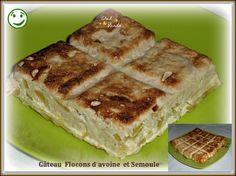 Excellent pour un petit déjeuner !!!!! Merci à ma copine Laury ( je lui ai piqué sa recette .....lol) PARFAIT pour 1 JSC et en Simpl'Express Gâteau flocons  d'avoine et semoule  pour 4 pers; 5PP la part Dans le cas d'une journée sans compter ; 0PP la...