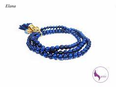 efa00a2bca52 Hermosa Pulsera En Tono Azul en Mercado Libre México