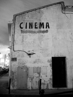 CINEMA.  I once had a dream that I owned a cinema very similar in character to this one. I believe that one day I will and it will be a wonderful, mystical place full of cult classics and modern experimental film. And gangster films. Just cool stuff. Will be named Jes-sinema… or CiNERAMA :)